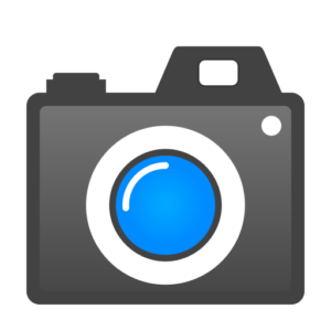 Icoon van een fotocamera