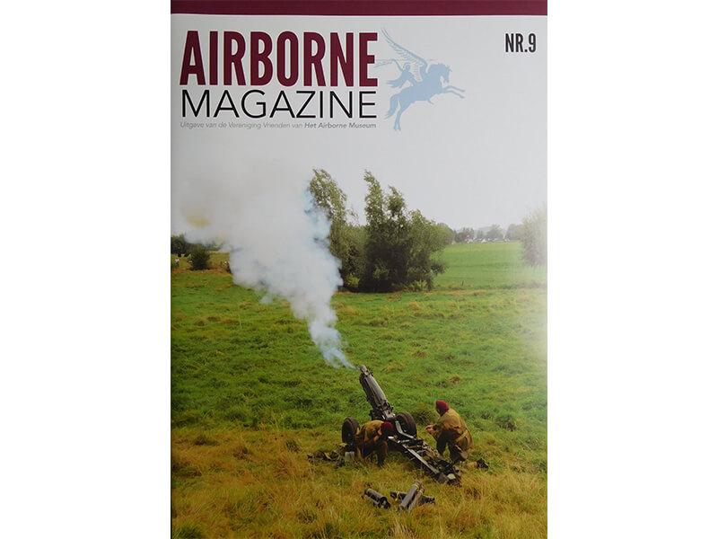 Omslagfoto Airborne magazine