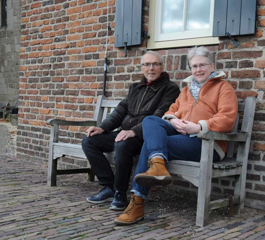 Foto van Geert Maassen en Judith Minkman